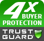 4x Buyer Protection Logo Comparison with Norton